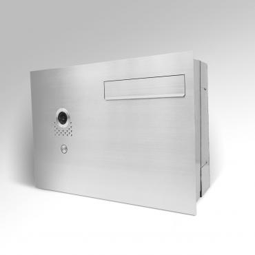 Duża skrzynka pocztowa do muru z wideodomofonem D WPN20 VID 551