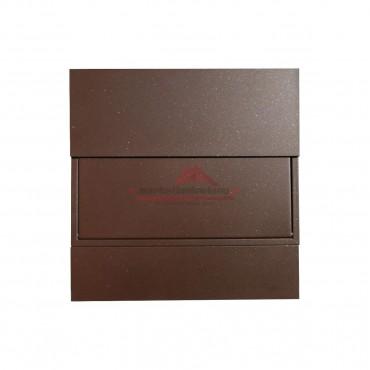 Brązowa skrzynka pocztowa 3 KR • Brąz Metaliczny